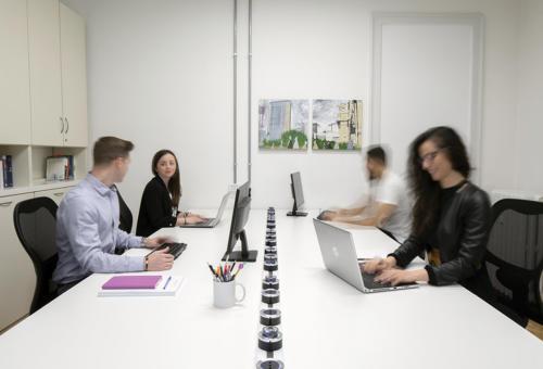 Postazioni coworking - Sala 1